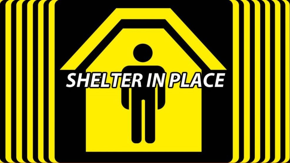Image result for shelter in place